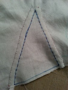 Stocking stitching