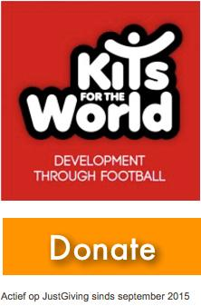 Click here to donate to kits for the world on Justgiving.com