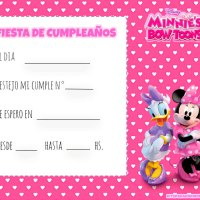 Kit de Minnie y Daisy para imprimir gratis