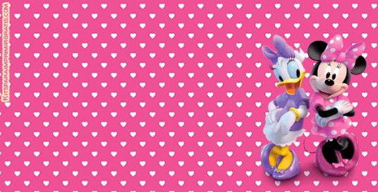 Kits Imprimibles Minnie y Daisy Descarga gratis