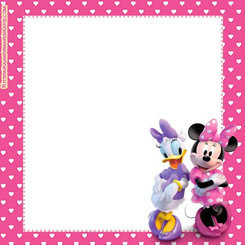 Moldes Para Decorar Cumpleaños Con Minnie Y Daisy Kits