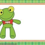 Etiquetas Stickers de Sapo Pepe y sus amigos