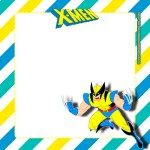 Etiquetas Stickers de X-Men Wolverine