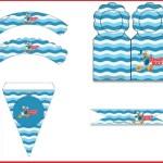 Decoración de Pato Donald: Imprimibles gratis