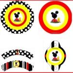 Kit de La casa de Mickey Mouse para decorar fiesta