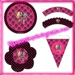 Decoración de Ever After High: Kit para imprimir gratis