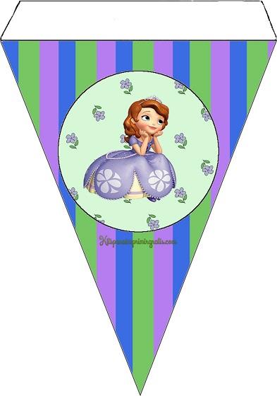 Imprimibles de Princesa Sofía para cumpleaños