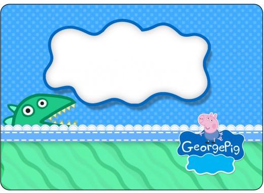 George Pig etiquetas