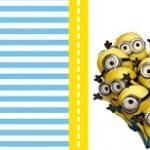 Kit imprimible de los Minions: etiquetas conos para dulces, banderines, stickers y más.