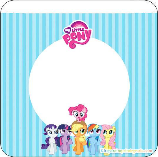 Banderines de My Little Pony para descargar gratis