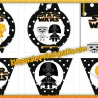 Kit de Star Wars VII para imprimir gratis y decorar