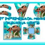 Kit de Moana para descargar y editar gratis