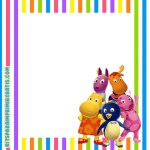 Kit Imprimible de Backyardigans para descargar gratis
