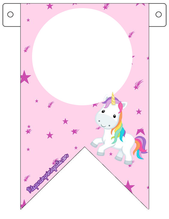 Kit Imprimible de Unicornios para descargar gratis | Kits