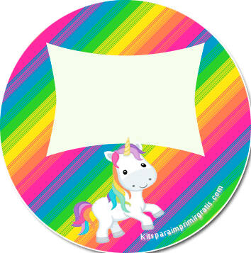 kit de unicornios para imprimir gratis kits para