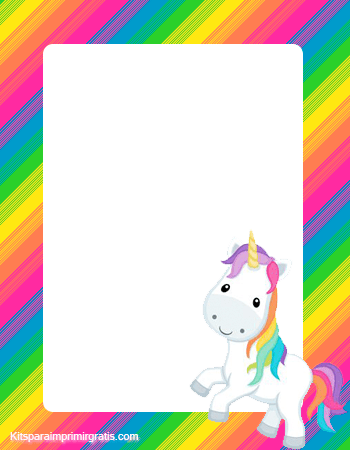 Fondos unicornios marcos unicornios