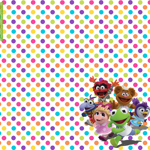 Candy bar de Muppets para imprimir gratis