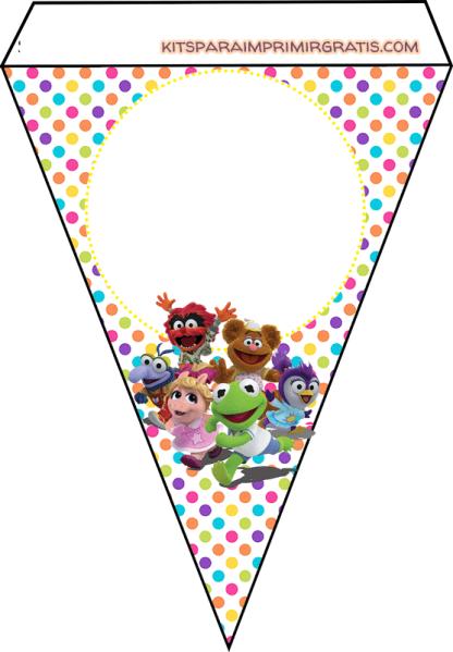 Cumpleanos muppets babies banderines