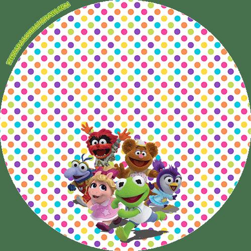 Stickers Muppets Babies etiquetas