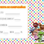 Muppets Babies Kit para Imprimir Gratis