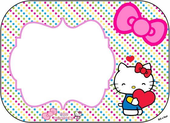 invitaciones de hello kitty tarjetas