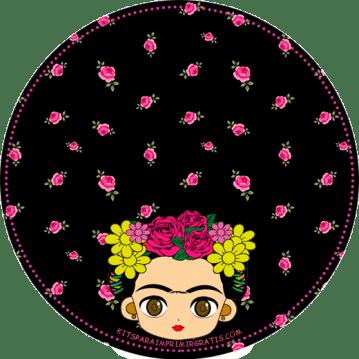 Etiquetas-Frida-Kahlo-Topper---Printables-frida-kahlo-free-download