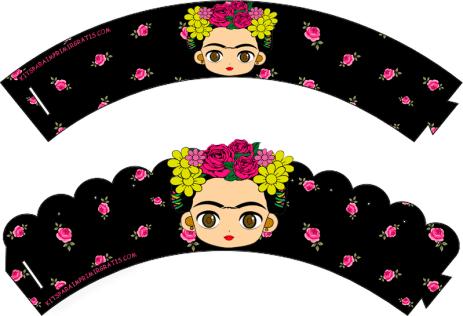 Kits Imprimibles Frida Kahlo
