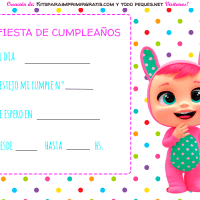 Kit Imprimible de Bebes Llorones Descarga Gratis