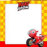 Kit Imprimible de Ricky Zoom para Descargar gratis