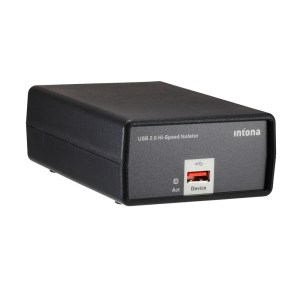 Intona High Speed USB Isolator – Industrial Black
