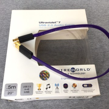 Wireworld .5M USB UV