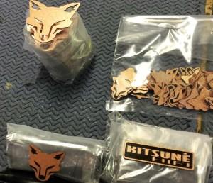 Copper KitsuneHiFi emblem