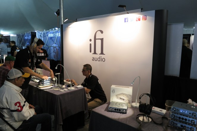 iFi - they had an impressive booth !