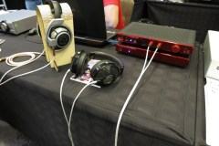 Utopia from Focal - I listened to three diff pairs at the show. This setup sounded the best.