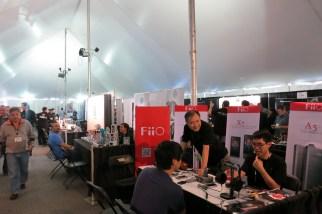 FiIO - nice booth!