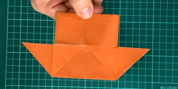 折り紙:いえの折り方