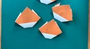 折り紙:くりの折り方