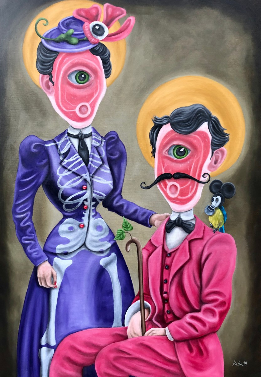 oliemaleri, maleri, kitt buch, popsurrealisme, samtidskunst, figurativ, contemporaryart