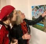 Fra udstillingen Global Goals x Art hos Gallerie Loerien, december 2019