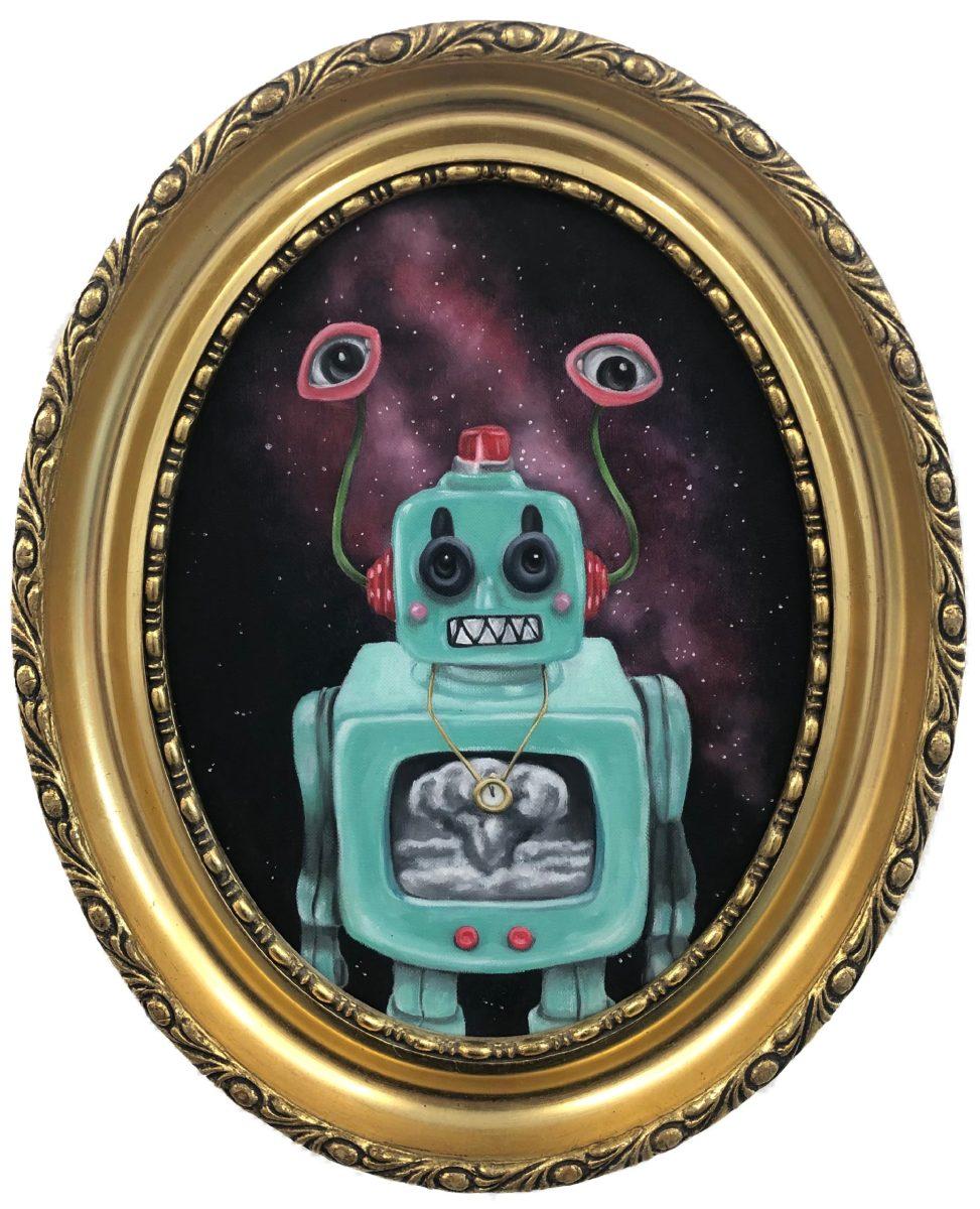kibu billedkunst lowbrow popsurrealist robot Kitt Buch