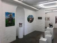 Fra udstillingen SCANNET NUTID i Galleri kbh kunst - lige inden dørene åbner