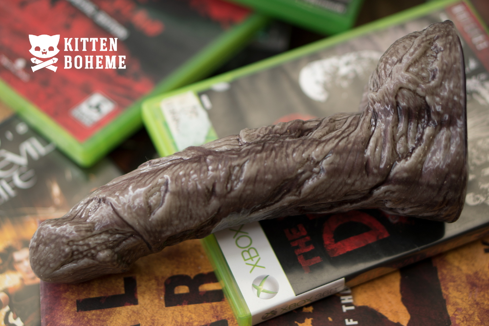 Fleshlight Freaks Zombie Silicone Dildo Sex Toy Review by Kitten Boheme