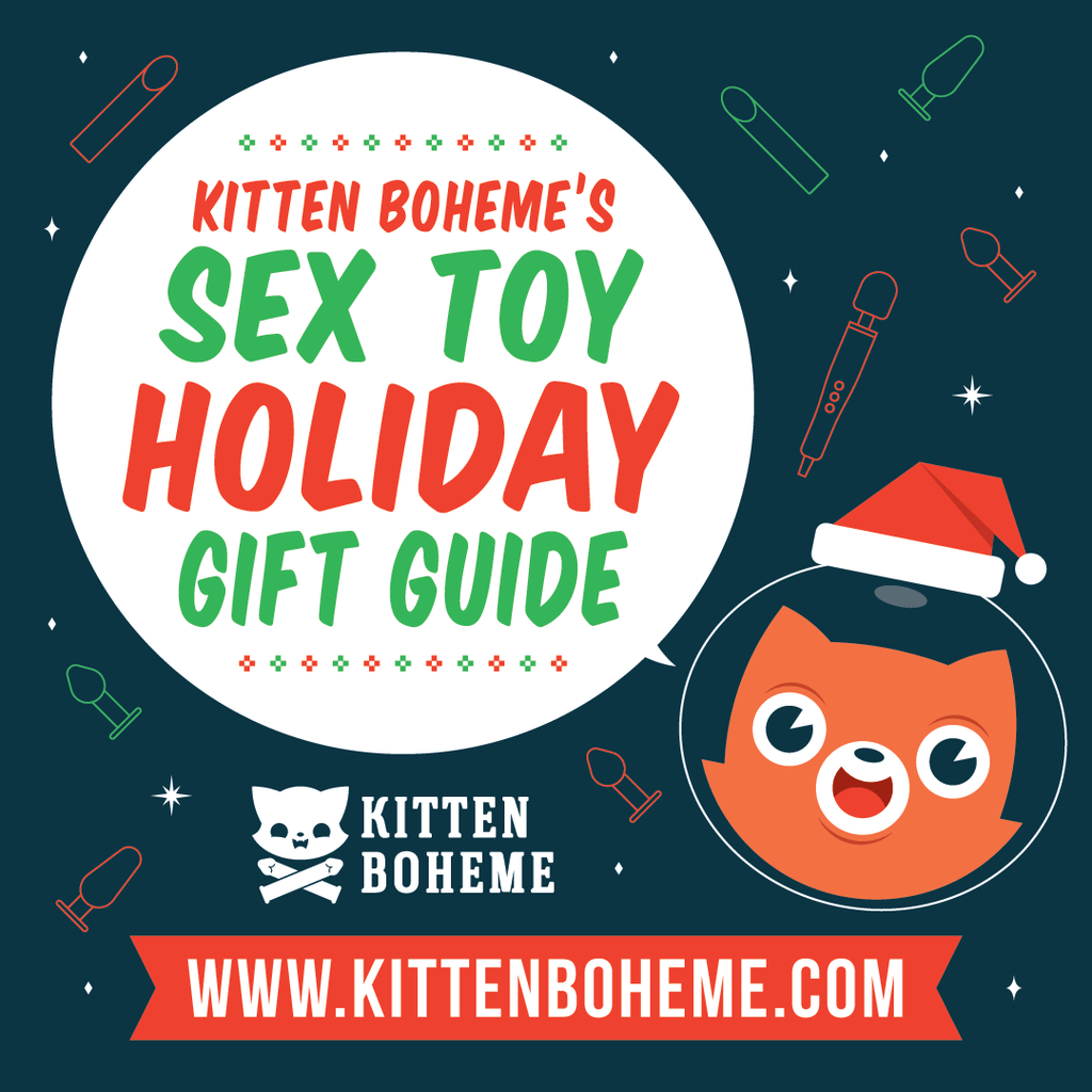 Kitten Boheme's Sex Toy Holiday and Christmas Shopping Guide and Sex Toy Sales