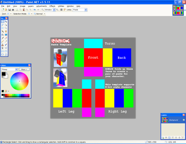 Roblox Template Designing - Year of Clean Water