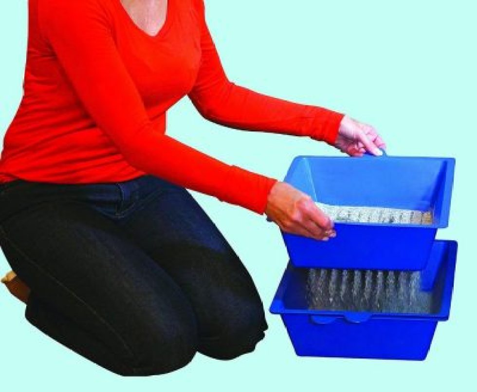 Cat Self Sifting Litter Box
