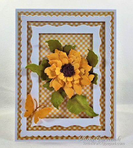 KC Elizabeth Craft Sunflower 1 center