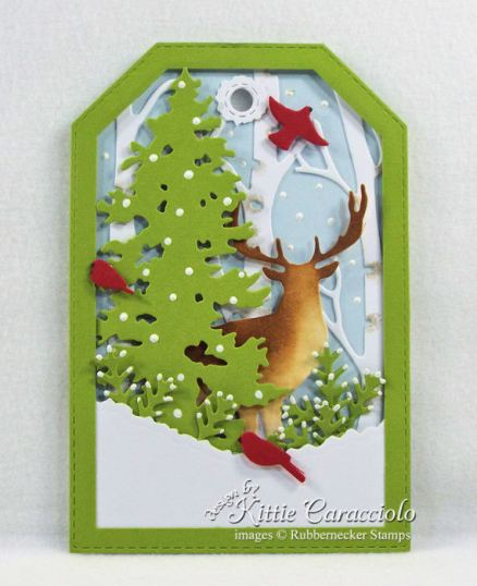 Come over to my blog to see how I masculine die cut gift tags.