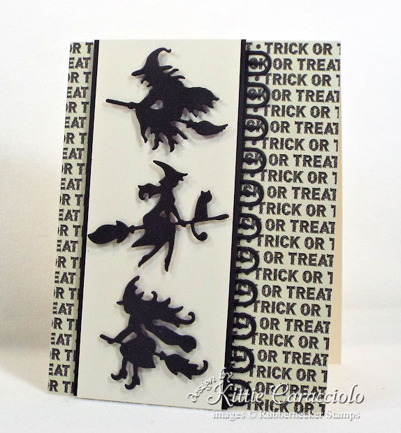 Come see how I made this fun clean and simple trick or treat witches card.