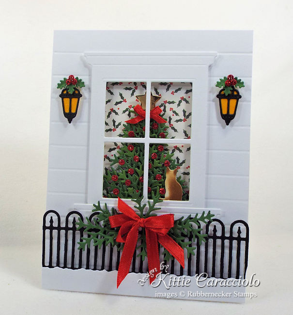 Come over to my my blog to see how I made this christmas tree window card.