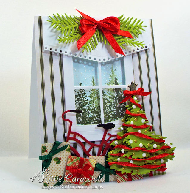 Rubbernecker Stamps Blog Come-see-how-I-made-this-pretty-layered-Christmas-tree-card.